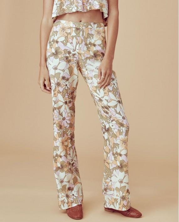 Çiçekli Pantolon
