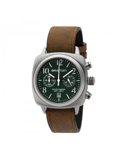 Briston Clubmaster Classic steel Chronograph Saat