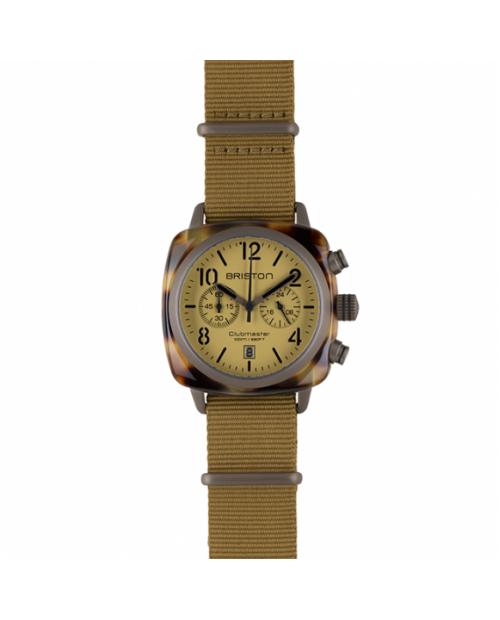 Briston Clubmaster Classic Chronograph Desert Saat