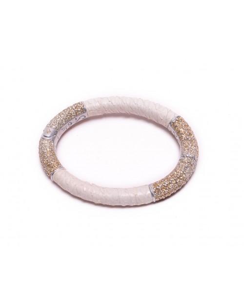 KMO Paris Beyaz - Gümüş Kelepçe