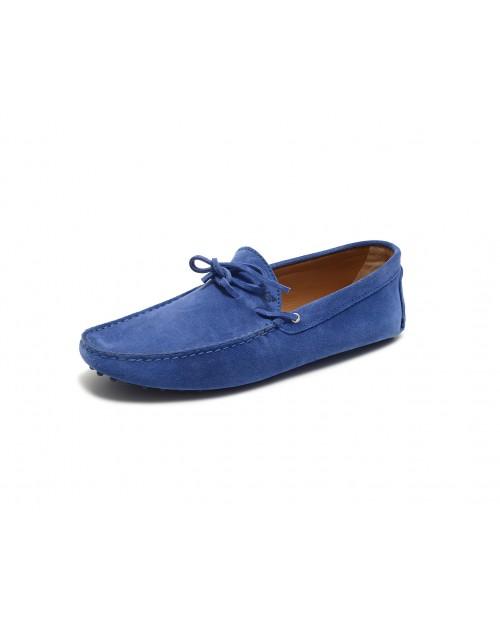 Bobbies Paris Le magnifique mavi süet ayakkabı