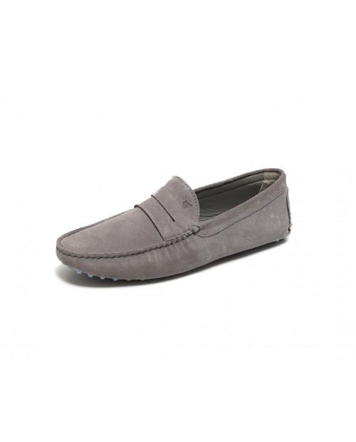 Bobbies Paris L'elegant gri süet ayakkabı