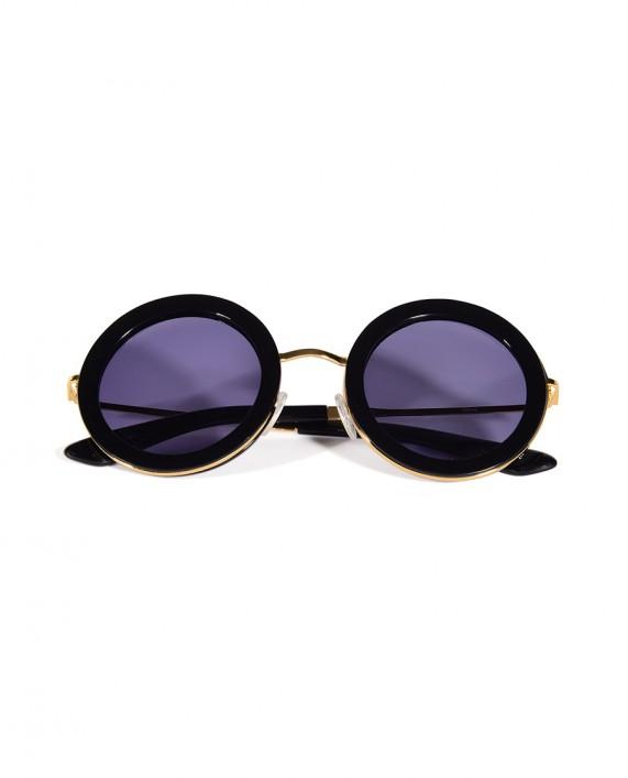 Siyah Yuvarlak Gözlük